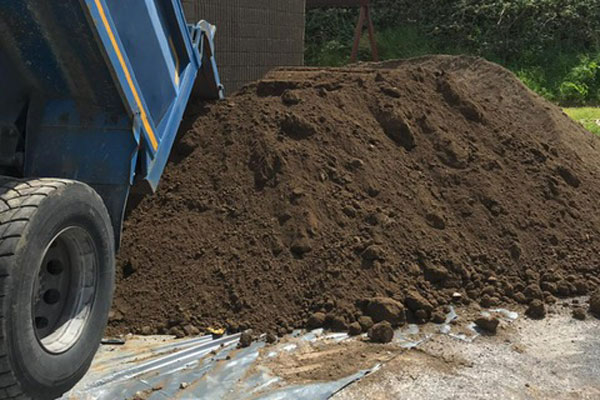 One ton bags of top soil for sale